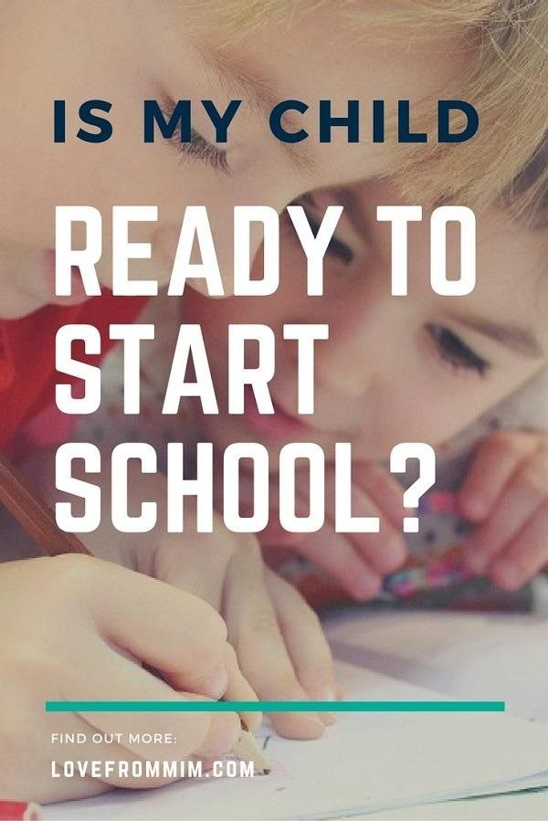 Is my Big Girl ready to start school? Love from Mim How to know if your child is ready to start school #startingschool #school #preschool