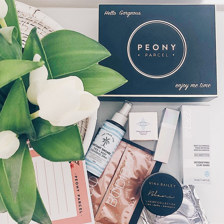 Peony Parcel Review - Love from Mim Pamper Box Review