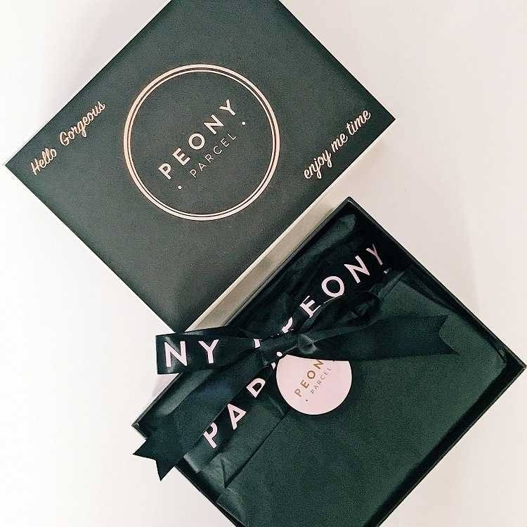 Peony Parcel Review - Love from Mim Monthly Beauty Subscription Box