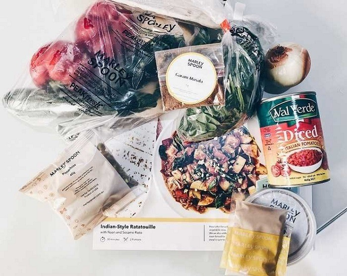 Marley Spoon Recipe Review - Indian-Style Ratatouille