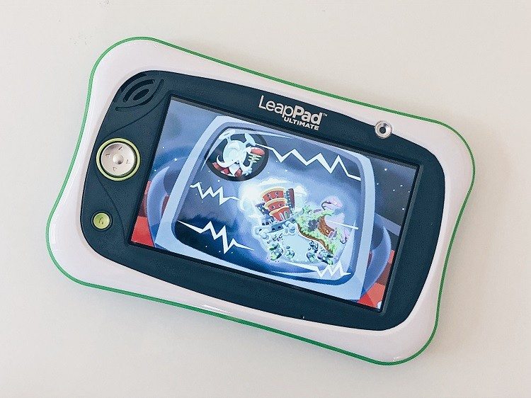 LeapFrog LeapPad Ultimate Planet Goop Cosmic Cleanup Game