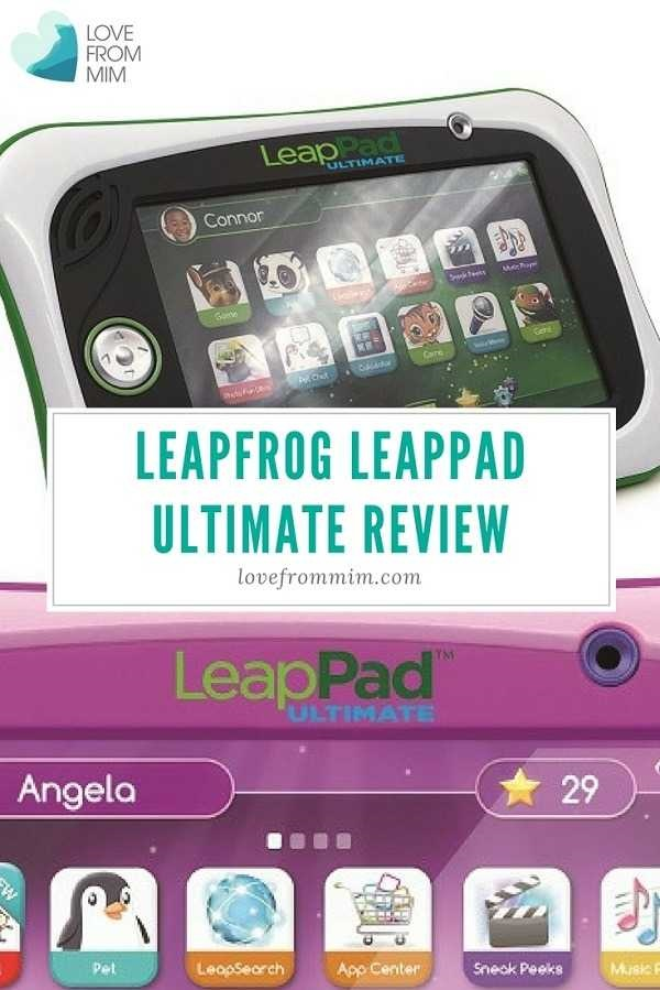 In this LeapFrog LeapPad Ultimate review you'll see why this is one of the best gift ideas for kids who want to learn and play at the same time! #leapfrog #leappad #leappadultimate #leappadreviews #leappadreview