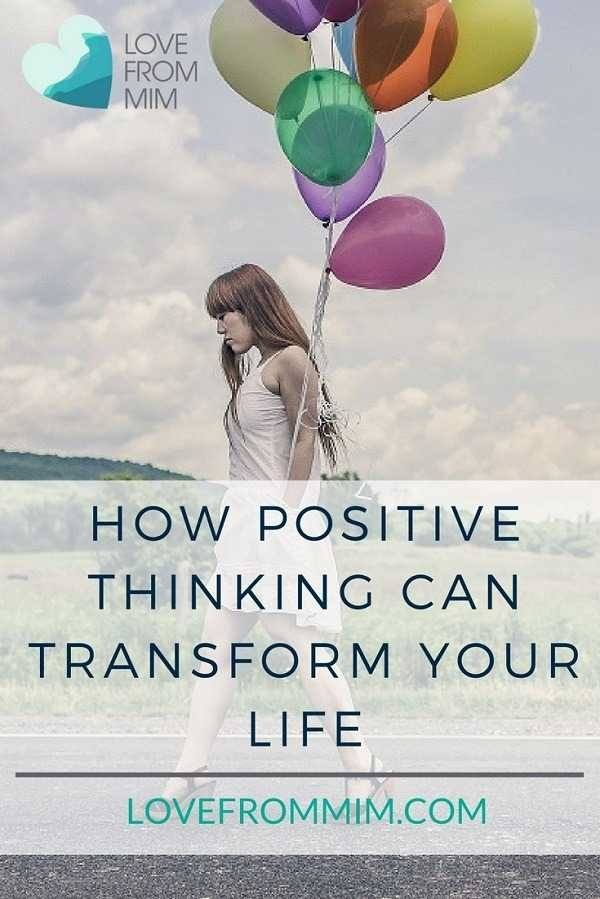 The Power of Positive Thinking - Love from Mim How to think more positively #positivity #positivethinking #thinkpositively #mentalhealth #clarity