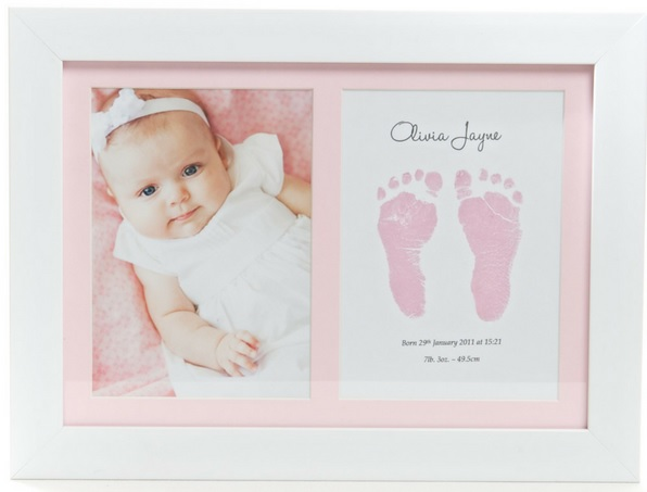 BABYInk Print in Pink Frame