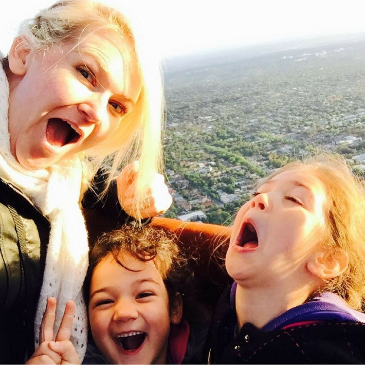 Kylie Travers with her daughters - Love from Mim