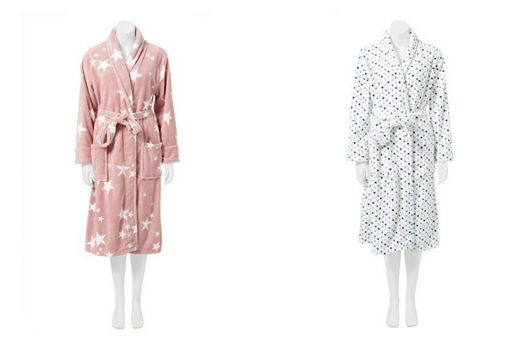 Harris Scarfe Sash and Rose Dressing Gown - Love from Mim