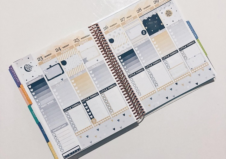 Paper Planner Club I Love You Weekly Kit Sticker Kit