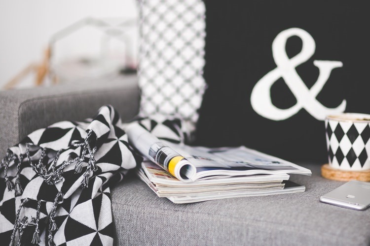 How to Declutter Magazines - Love from Mim
