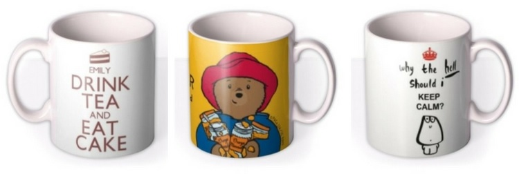 Moonpig Personalised Mugs - Love from Mim