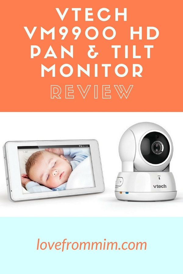 If you're on the look out for the best baby monitor, check out my VTech VM9900 HD Pan and Tilt Video Monitor review! Love from Mim This is one of the Best Baby Video Monitor we've tried. #BabyMonitorReviews #VideoBabyMonitors #babies #videomonitor #vtech #babyproductreviews