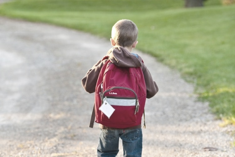 Boy with Back Pack - Love from Mim