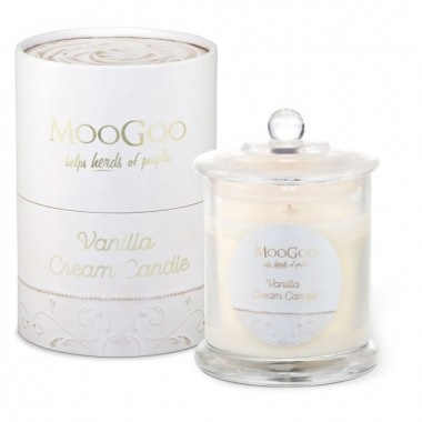 MooGoo Vanilla Cream Candle - Love from Mim