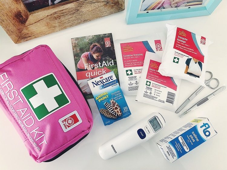 Family First Aid Kit Essentials - Love from Mim
