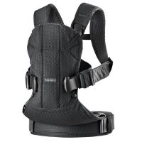 BabyBjorn Carrier One Air Black Mesh - Love from Mim