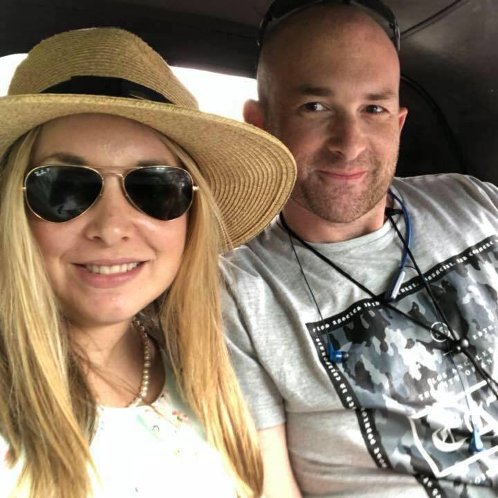 Candice Meisels and husband