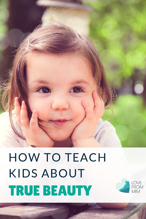 If you want to know how to teach kids about true beauty, this mum shares how she teachers her kids that they are beautiful inside and out. Help improve your kids self-esteem and self worth and kids confidence. Love from Mim