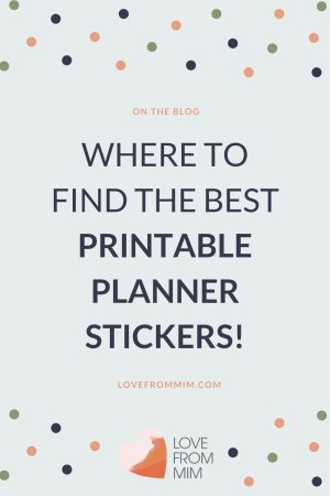 Looking for the Best Printable Planner Stickers and free printable planner stickers? Also find out how to print printable planner stickers and how to cut printable planner stickers too! #printables #freeprintables #printableplannerstickers #erincondren #plannerstickers #printablestickers #erincondrenstickers #bestplanners #plannerreviews