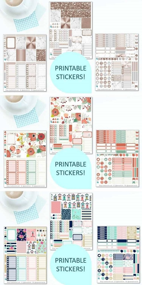 Paper Planner Club Printable Planner Stickers If you're looking for the Best Printable Planner Stickers, you will love this range from Love from Mim and her top picks. Find out how to print printable planner stickers and how to cut printable planner stickers too! #printables #freeprintables #printableplannerstickers #erincondren #printablekits #printableweeklykits