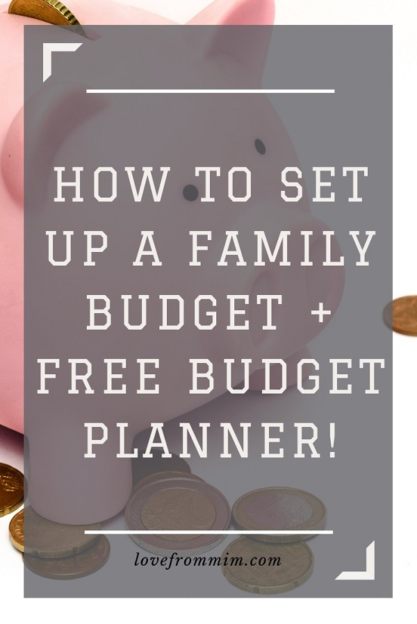 Find out how to set up a family budget and organise your family finances, save money, reduce debt and make more money! Plus you can grab my free budget planner too. #familyfinances #budgetplanner #budgetplanning #familybudget #familybudgetplanner #familymoney #savemoney