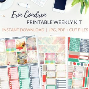 Printable Very Vintage Weekly Kit of printable planner stickers for the Erin Condren Life Planner or most other planners! Get the best planner stickers and printable stickers in my best planner stickers range. #plannerstickers #freeprintables #printableplannerstickers #weeklykit #weeklystickers #etsystickers #erincondrenstickers #planning #lovefrommim #paperplannerclub #vintage #vintagestickers