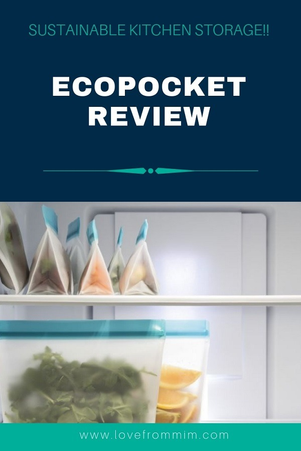 If you're looking for plastic free food storage of non plastic kitchen storage ideas, you will love this EcoPocket review! #ecopocketreview #kitchenstorage #foodstorage #foodcontainers #kitchenorganisation #homeorganisation #foodcontainers #plasticfree #ecofriendly