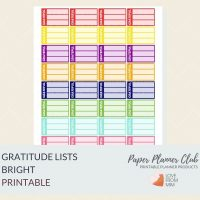 These Free Printable Gratitude List Stickers will help you decorate your Erin Condren LifePlanner or other planners and stay super positive, thankful and grateful! Create a DIY gratitude journal or happiness journal. #digitalstickers #freeprintables #printableplannerstickers #freesplannerstickers #plannerstickers #freestickers #gratitude #gratitudejournal #gratitudebulletjournal #gratitudediary #gratitudelist #lovefrommim #paperplannerclub