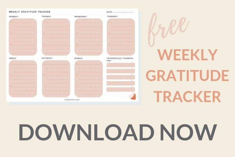 Get Grateful With This Free Gratitude Journal Template