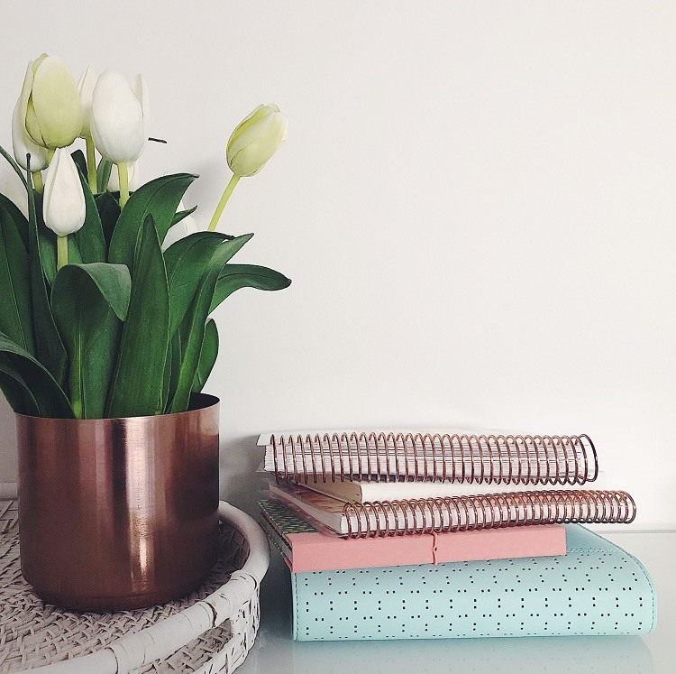 Planners on Table - Love from Mim
