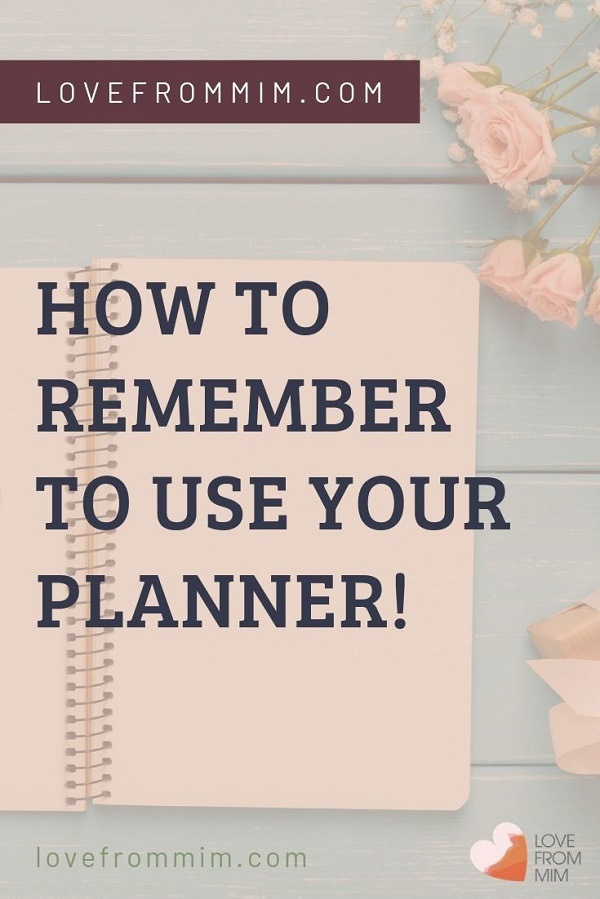Find out how to remember to use a Planner more consistently Work out what is the best planner, how to decorate a planner and total planner 101! Remember to use your planner and make it work for you with these top tips! Love from Mim #lovefrommim #howtouseaplanner #planner #paperplanner #planning #productivitytips #planneraddicts #plannergirls #planneradvice #habittracking