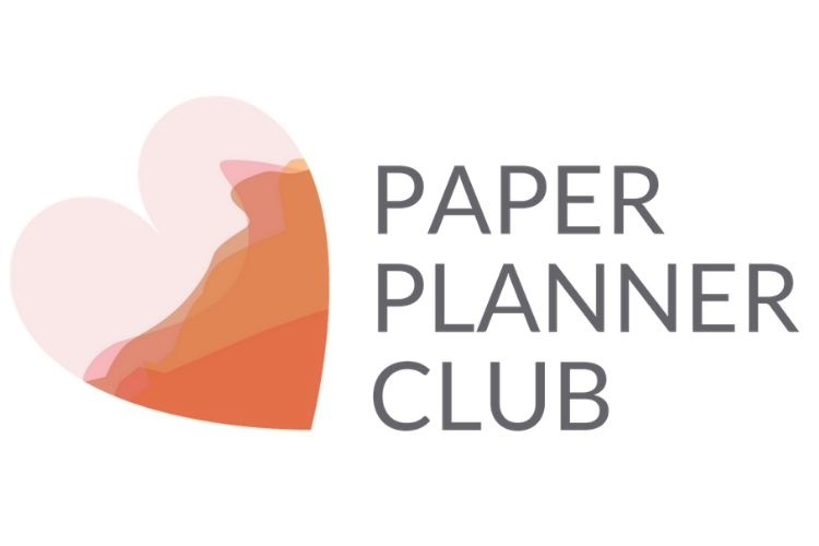 Paper Planner Club Logo - Love from Mim