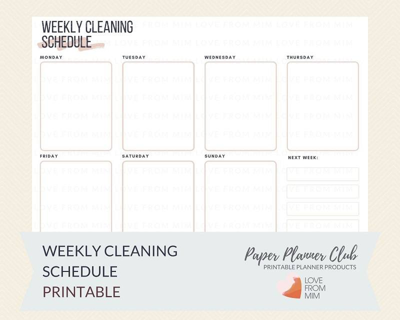 picture regarding Weekly Printable called Printable Weekly Cleansing Plan
