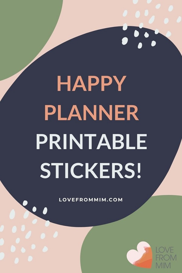 Looking for the best Happy Planner Printable Stickers? This list of printable planner stickers for happy planner sticker kits is for you! MAMBI Happy Planner stickers #lovefrommim #paperplannerclub #happyplanner #printablestickers #printableplannerstickers #happyplannerprintables #classichappyplanner #mambistickers