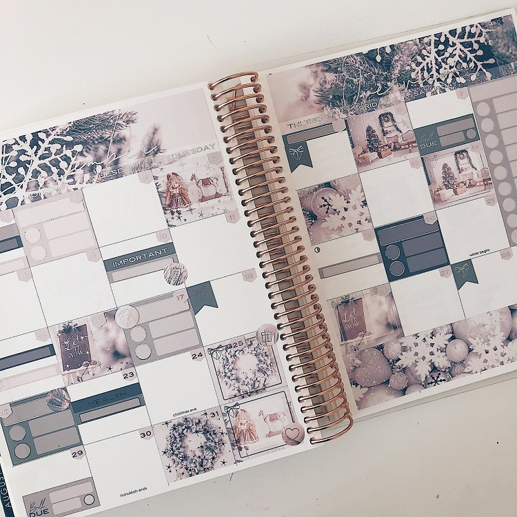 The Silver Marker - Let it Snow - Monthly Kit - Love from Mim