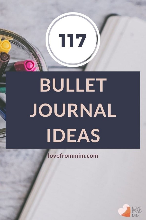 Want to know what to put in a bullet journal? This cool bullet journal ideas list has 100+ bullet journals ideas for beginners to get started with bullet journaling! Use this bullet journaling ideas list as inspo for your habit tracker bullet journal now! #bujo #bujolists #bujoideas #bulletjournalideas #bulletjournaling #bulletjournalingideas #habittrackingideas #habittrackerideas #bulletjournaltracker