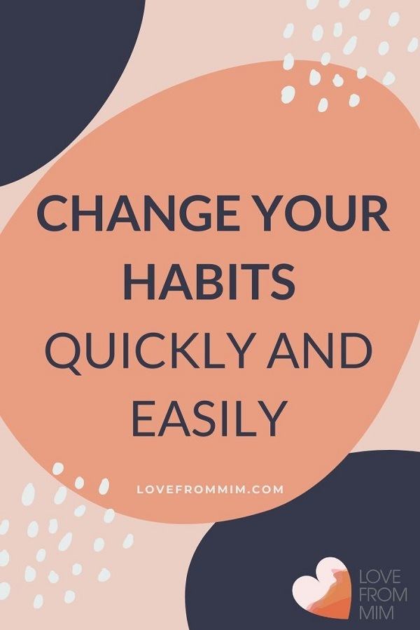 10 bad habits and how to change them easily and effortlessly! Ditch these bad habits and start new habits with my easy ways + free habit tracker printable #lovefrommim #habittracking #habittracker #changeyourhabits #badhabits #goodhabits #startinghabits #stophabits