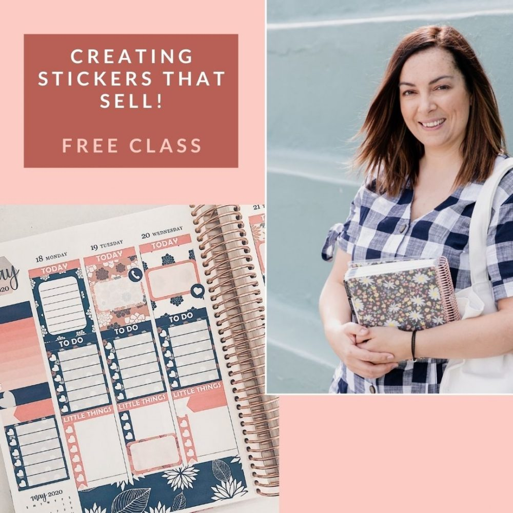 Creating Stickers That Sell - Free Masterclass